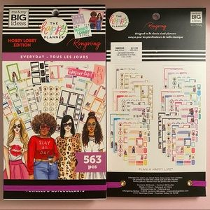 The Happy Planner Rongrong Everyday Sticker Book